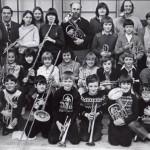 Tutbury Band in 1981