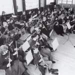 Tutbury Band practice in 1990