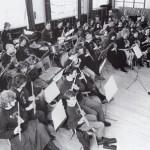 Tutbury Band practice in 1990